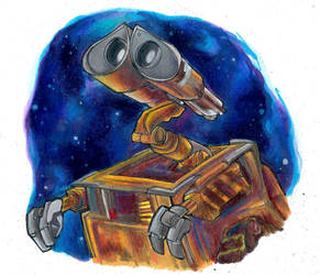 Wall-E by AlexandraBowmanArt