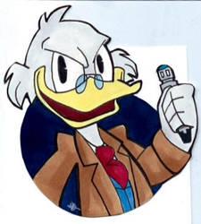Ducktor Who by AlexandraBowmanArt