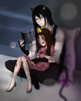 Reading by IvyDarkRose