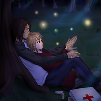 [Contest Entry] A Small Moment of Peace by IvyDarkRose