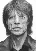 Mick Jagger by noir-badger