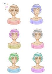 [ORIGINAL] Practising with colours by VivianDolls