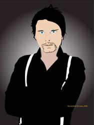 Matt Bellamy with Blue Eyes by b-dette