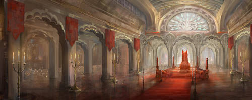 throne room by yefumm