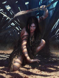 Huntress by yefumm