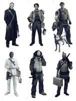 Bank Robbers by yefumm