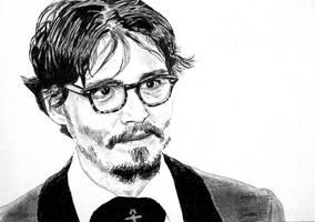 Johnny Depp by rorymac666