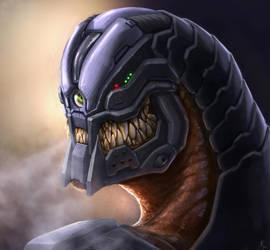 Cyborg Predator by Kildibek