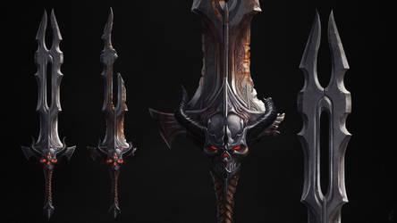 Demon Sword by Kildibek