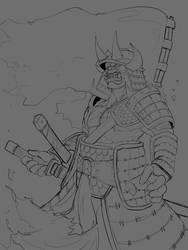Orcish Samurai by Kildibek