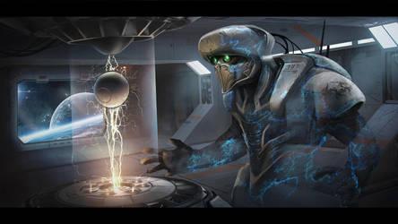 Space Thief by Kildibek