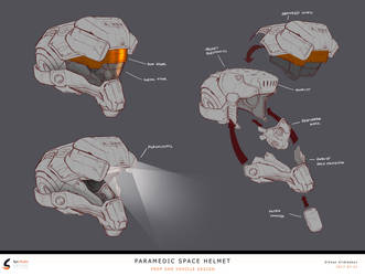 Helmet Design v1 by Kildibek
