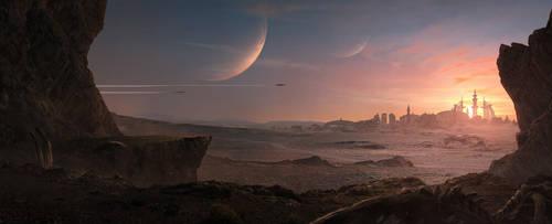 Desert City by Kildibek