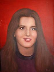 Elisabeth oil painting by ingrid