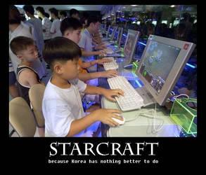 Starcraft... by sweetbeandango