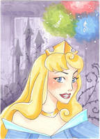 Aurora- Art card by Faerytale-Wings