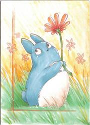 Little blue-ACEO by Faerytale-Wings