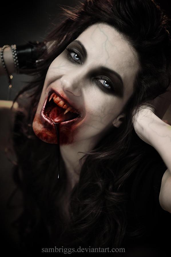 Vampire Angie by SamBriggs