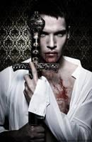 Jonathan-Rhys-Meyers as Dracula by SamBriggs