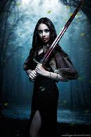 Vampire Warrior V by SamBriggs