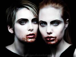 Vampires Winona And Angie by SamBriggs