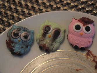 POSSESSED OWLS by TurquinkGalaxie