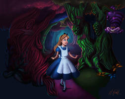 Alice In Wonderland by matthoworth