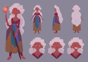 Nyima Character sheet by matthoworth