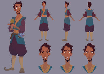 Prince Jatan Character sheet by matthoworth