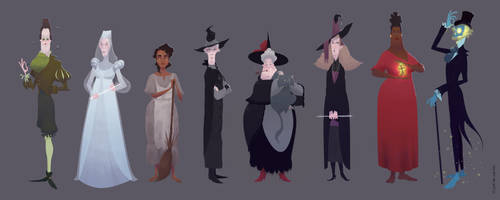Witches Abroad Lineup by matthoworth