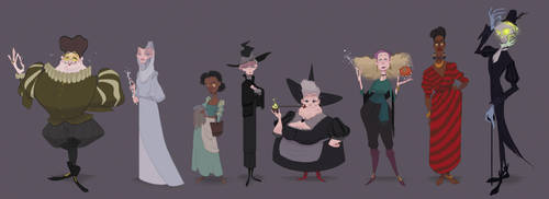 UPDATED Witches Abroad Line-up by matthoworth