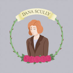 Dana Scully by painted-nadia