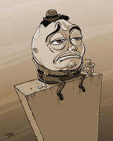 Humpty Dumpty by JoeyGates