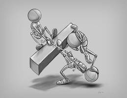 Strength pose by JoeyGates