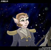 Amelia by Thunddi