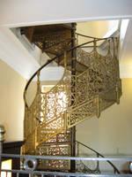 Brass stairway by TSofian