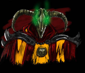 Hexen 2 Skull Wizard by Karyudo-DS