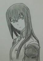 Makise Kurisu from Steins Gate by MyArtDc