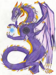 The Elder Dragon by Eruraina