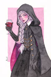 Commission - Wine by Serenyan