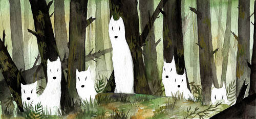 The Watchers of Elliswood by BlackSeaFoam