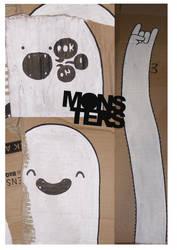 GHETTO MONSTER by MrWriter89