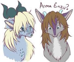 Arma Enzu by armaina