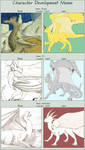 Then and Now Dragons by armaina