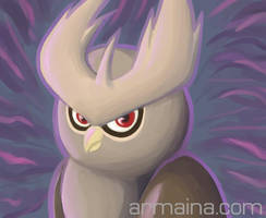 Noctowl by armaina