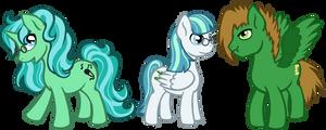 Pony Friends by armaina