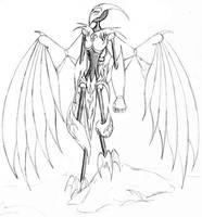Munin's New Wings by armaina