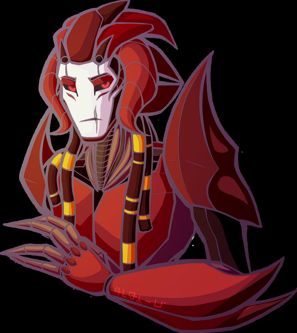 Bloodbringer Bust by armaina