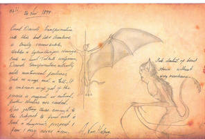Van Helsing's journal, page 42 by daddyconnolly