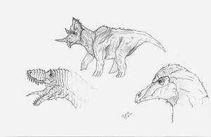 Imaginary Dinos by daddyconnolly